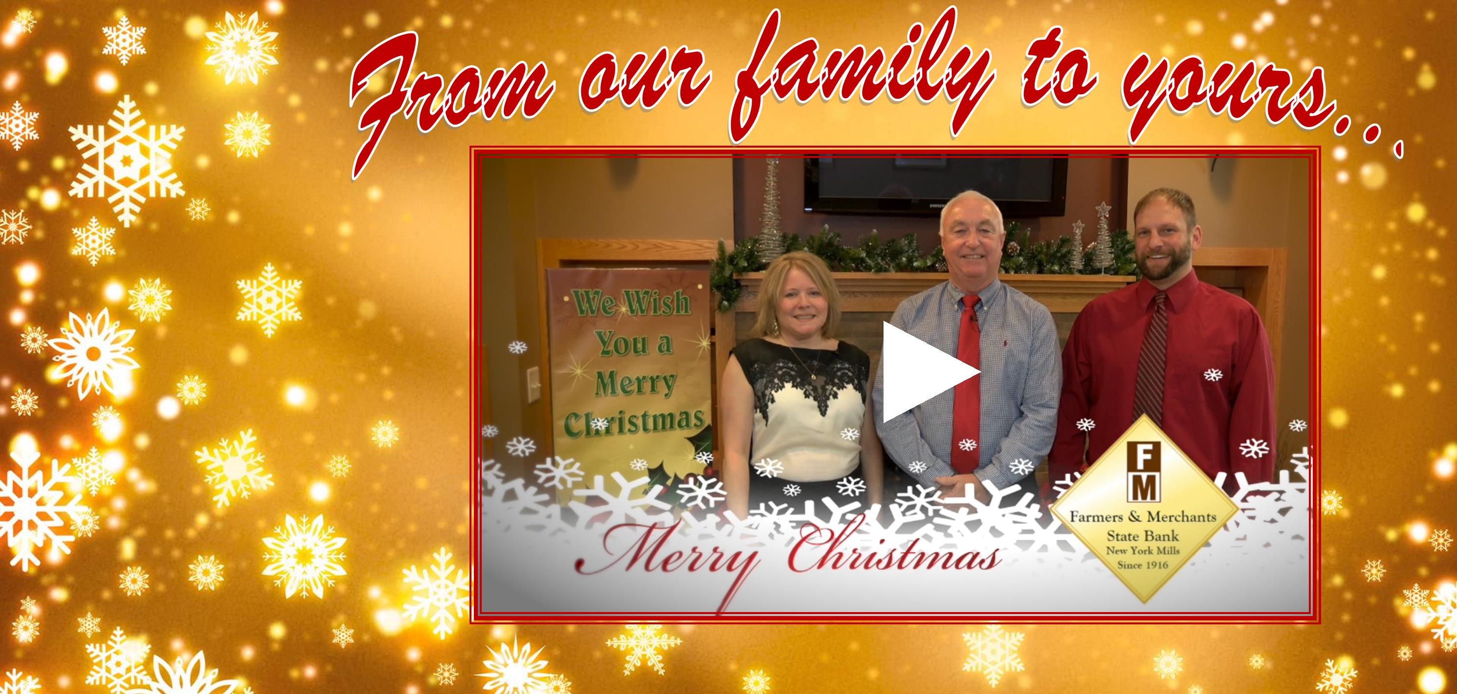 From our family to yours Christmas 2